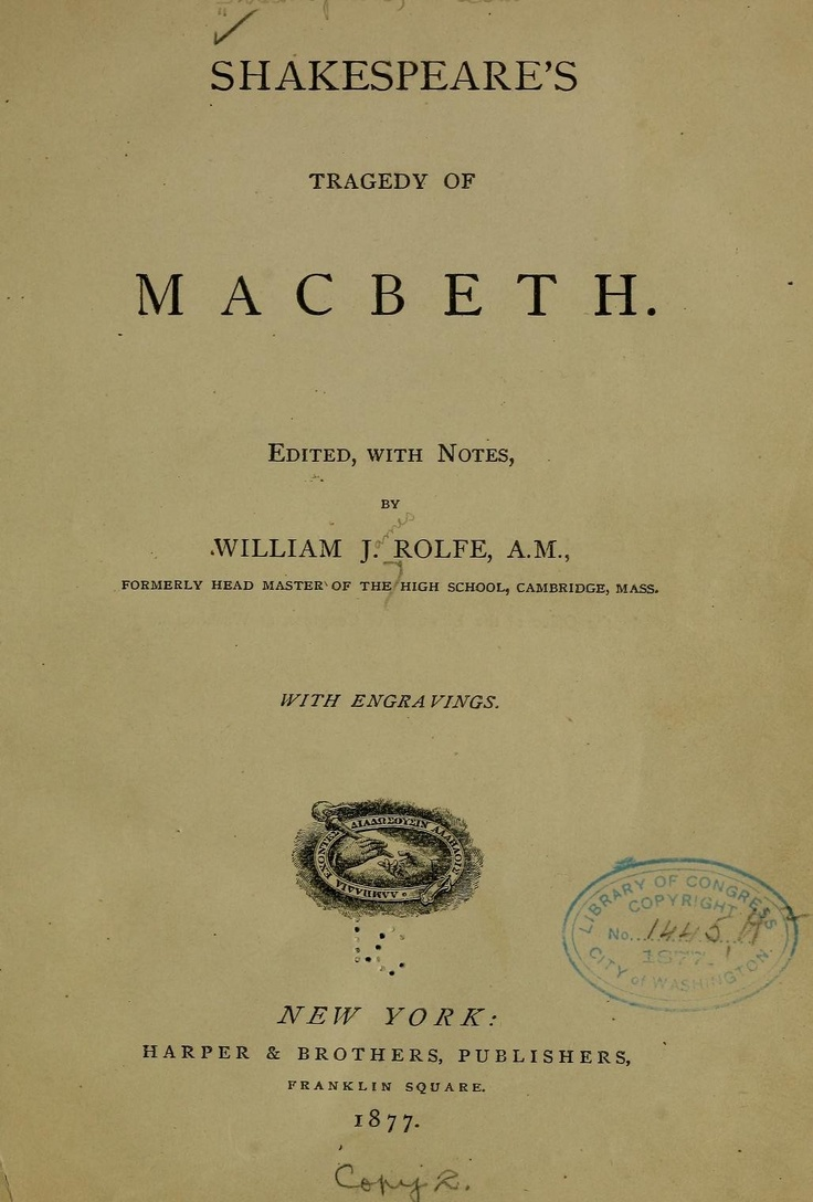 """""""Macbeth"""" by Shakespeare: bloodshed and more bloodshed"""