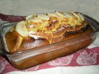 Receta de bizcocho de yogur y manzana