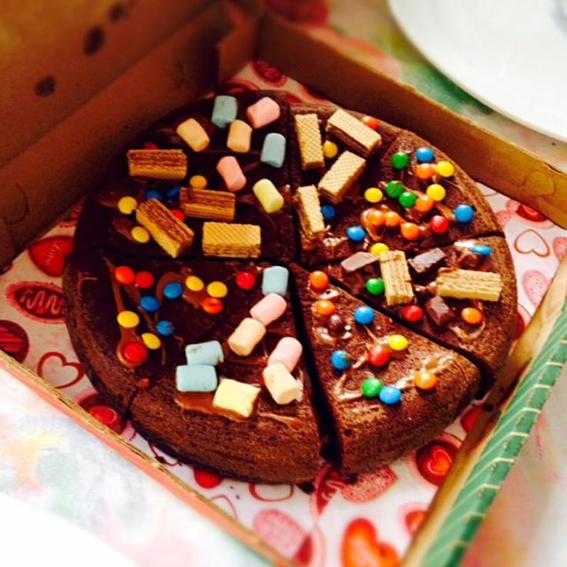 レシピとお料理がひらめくSnapDish - 6件のもぐもぐ - Pizza brownie by Ana Corina Santiago