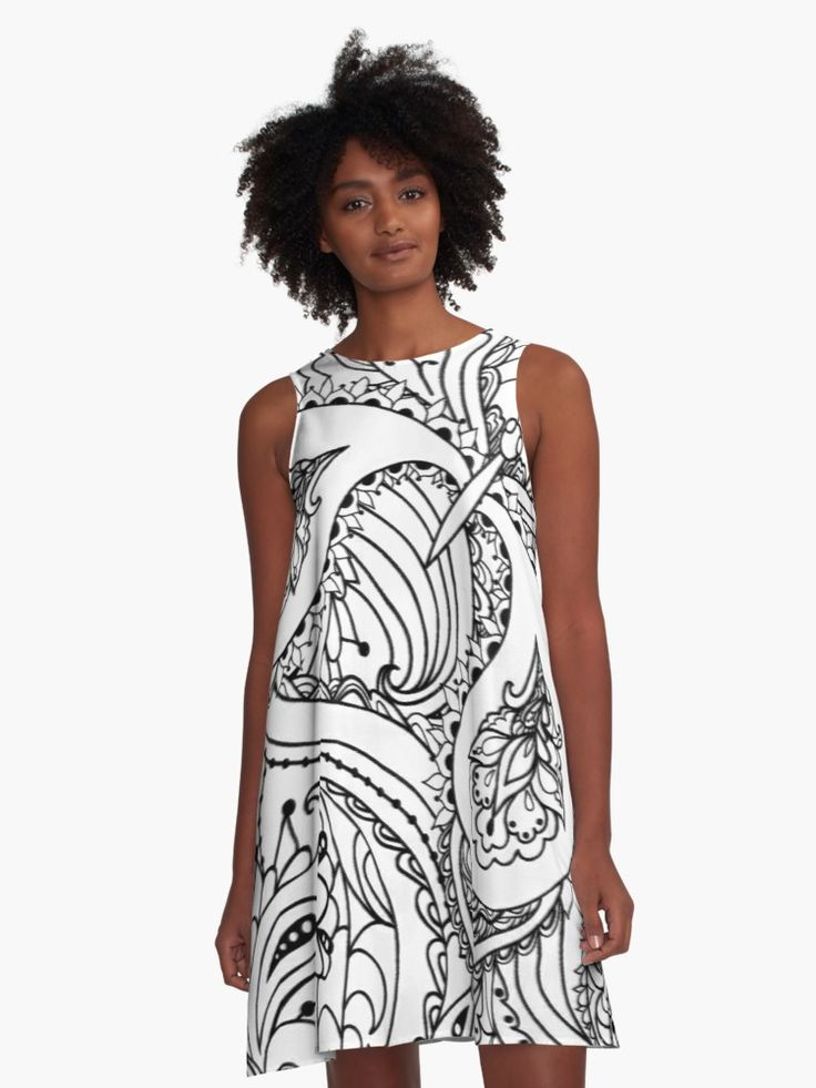 Black and white meet unique lines and patterns • Also buy this artwork on apparel, phone cases, home decor, and more.