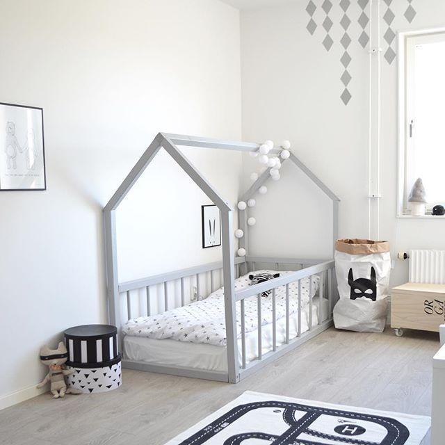 House Frame Bed Toddler Floor