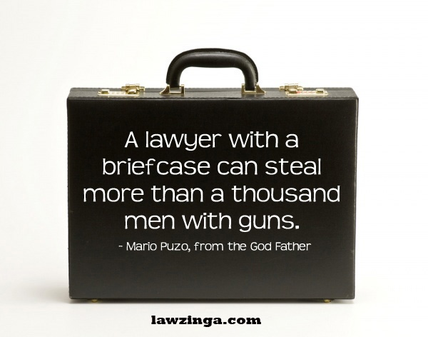 lawyer movie quote from The Godfather