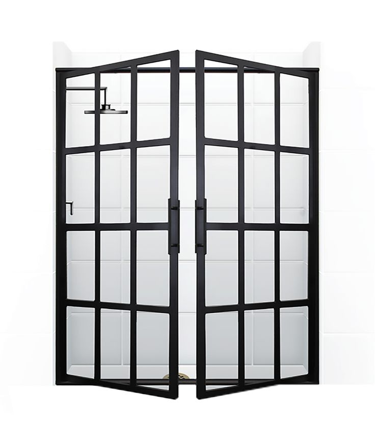 I feel like I NEED these shower doors!  Gridscape® series – Coastal Shower Doors