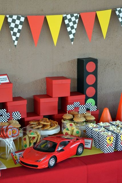 Ferrari Party Table