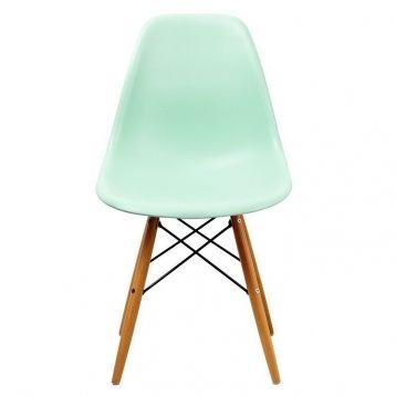 Silla Eames Verde esmeralda Inspiración DSW de Charles & Ray Eames