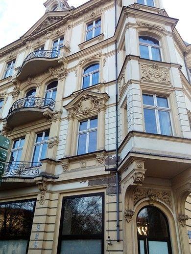 szczecin houses jugendstil
