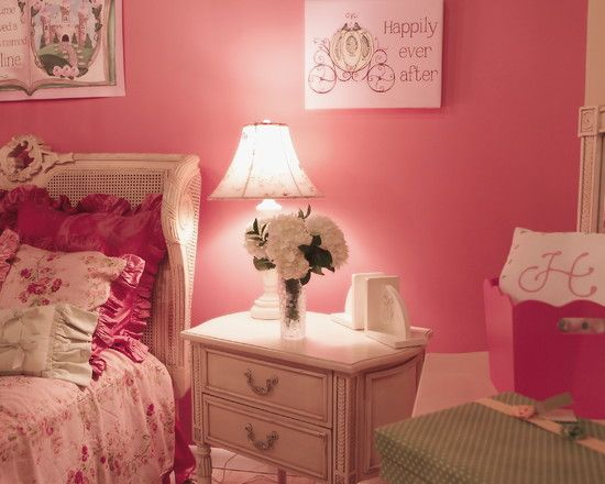 Spaces little girl bedroom painting ideas design pictures for Country girl bedroom designs