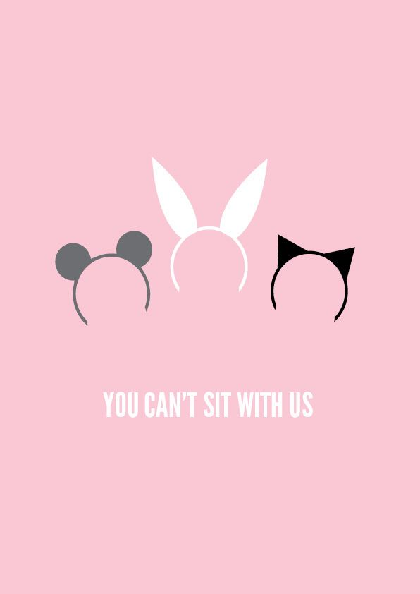 Mean Girls (2004) ~ Minimal Movie Poster by Zoe Perry #amusementphile
