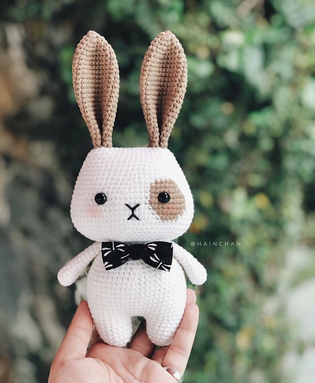 63 Free Crochet Bunny Amigurumi Patterns ⋆ DIY Crafts | 777x640