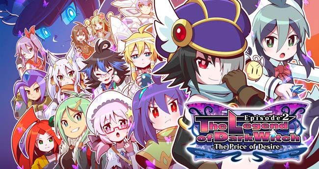 The Legend of Dark Witch 2: The Price of Desire 3DS eShop CIA & Decrypted (USA) ROM - https://www.ziperto.com/the-legend-of-dark-witch-2/