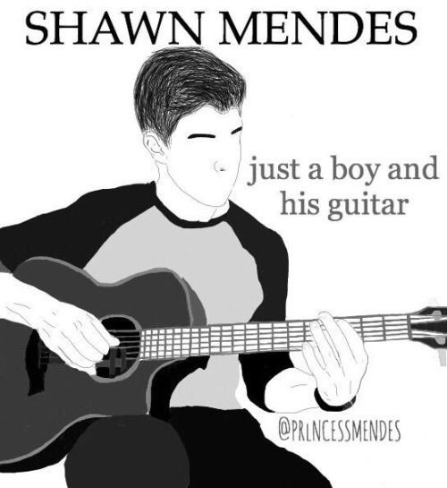 These 27 Shawn Mendes Drawings Will Impress You... Or Terrify You