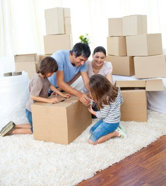 Involve all the family in packing up their own rooms©istockphotos/4774344sean