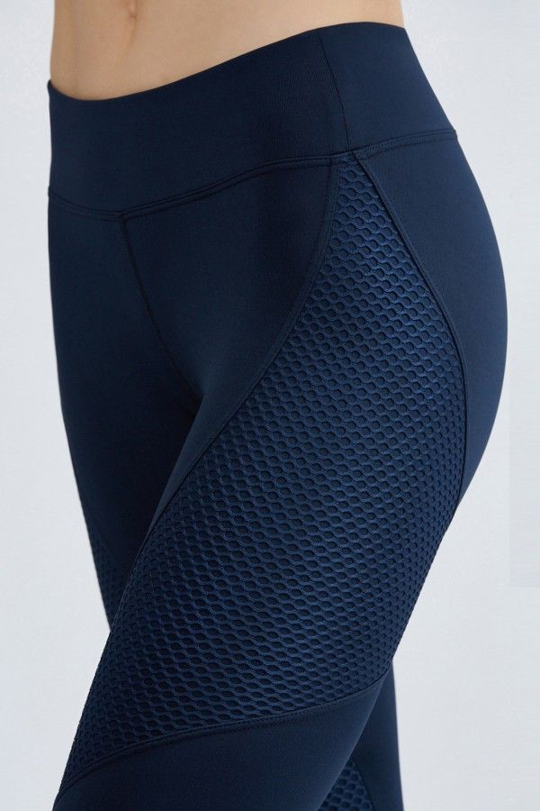 Sector Legging - Something Navy by Bandier