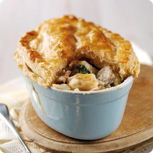 Bidvest 3663 Blog - Smoked Haddock, Spinach & Bacon Pie