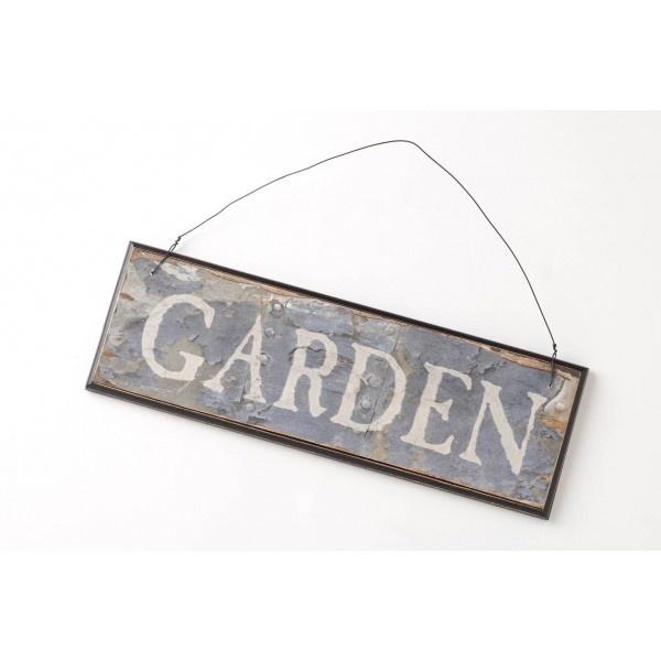 Wood Sign Garden