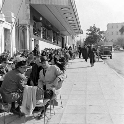 1948 ~ Syntagma square, Athens (photo by Dimitri Kessel)