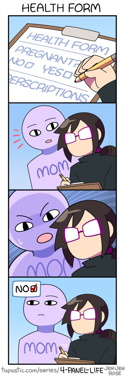 [ Support 4-Panel Life on Patreon ! ]★ 4-Panel Life | Tumblr | Twitter | Tapastic | Facebook |
