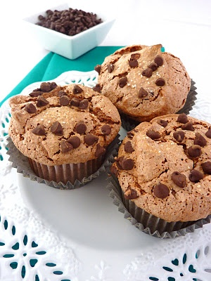 Chocolate Chip Angel Food Cupcakes   Treats   Pinterest   Chocolate ...