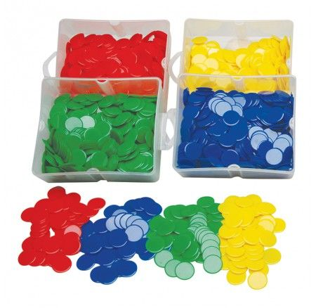 Bulk Counters Set of 500 Green Every classroom needs some counters... don't miss out on this bargain!