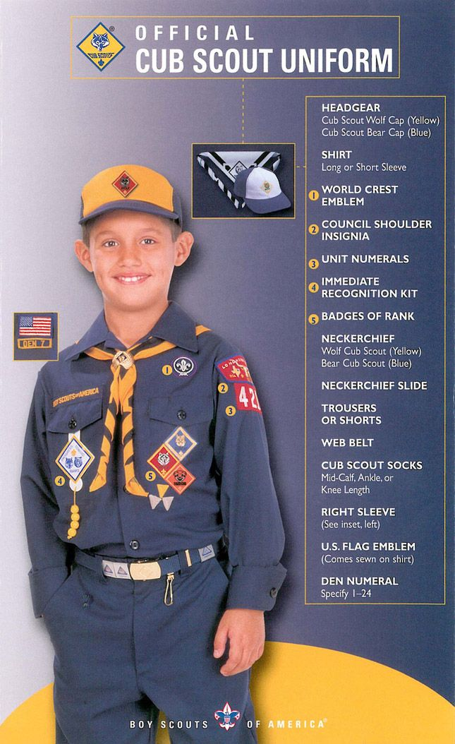 Public Uniform Guide - Cub Scout Pack 621 (Brownsburg, Indiana)