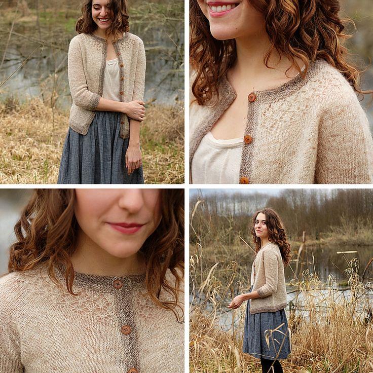 Knitting pattern Blaer by Beatrice Perron Dahlen