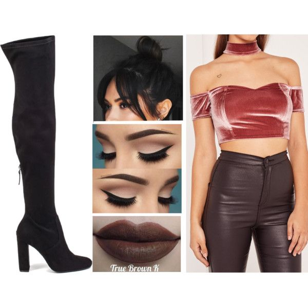 Sans titre #1289 by soso-lili on Polyvore featuring moda, Missguided, Steve Madden and Kylie Cosmetics
