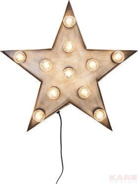 Kare design :: Lampa ścienna Star 11-lite Star | OŚWIETLENIE  kinkiety OŚWIETLENIE  dekoracyjne WYBIERZ SWÓJ STYL  Loftowy | 9design Warszawa