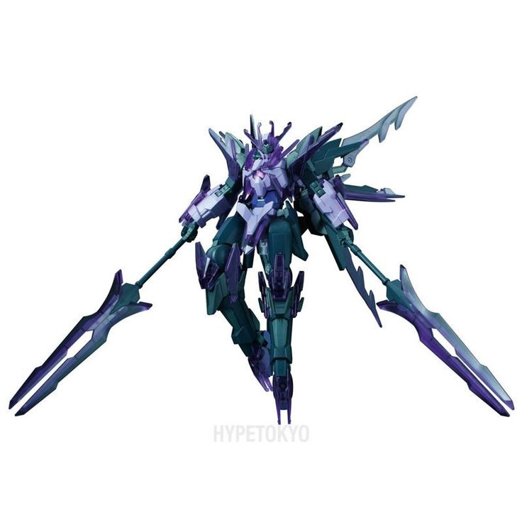 Gundam Build Fighters Honoo High Grade 1/144 Plastic Model : Transient Gundam Glacier