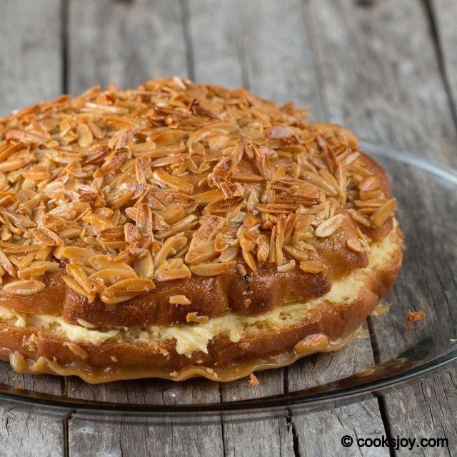 Bienenstich Kuchen | Cooks Joy Bee Sting Cake