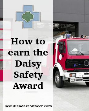 When my Daisy Girl Scouts earned the pin I wanted them to really understand safety concepts so that they could wear it proudly and truly understand fire and personal safety and be able to share with others. check out these ideas!