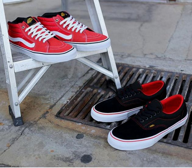 vans era black label