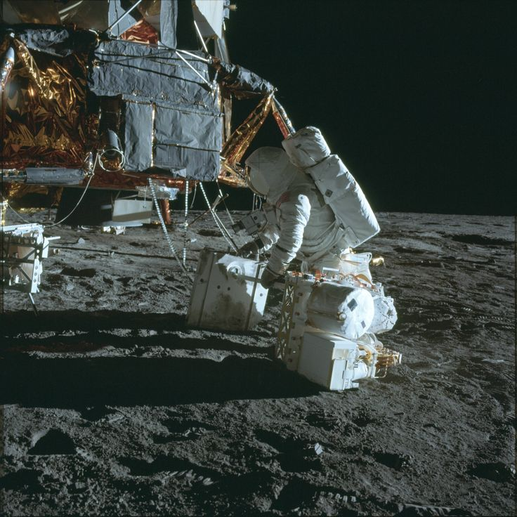 Some of the more uncommon images of the Apollo Program - Imgur