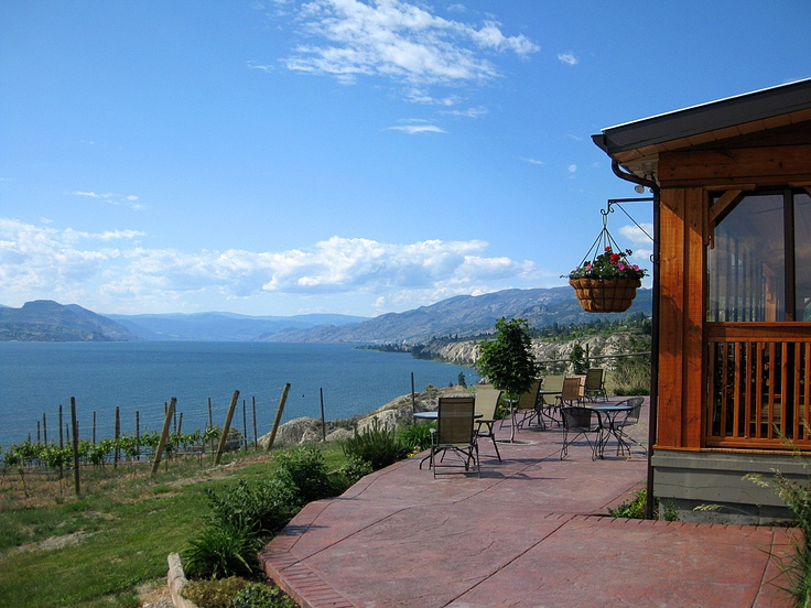 The beautiful Soaring Eagle Winery in Penticton, British Columbia, Canada