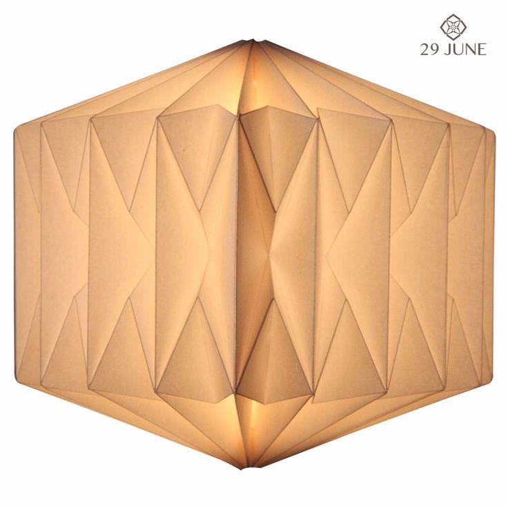 Quartz Paper Lamp shades http://www.29june.com/index.php/paper-pendant-lampshades/quartz.html