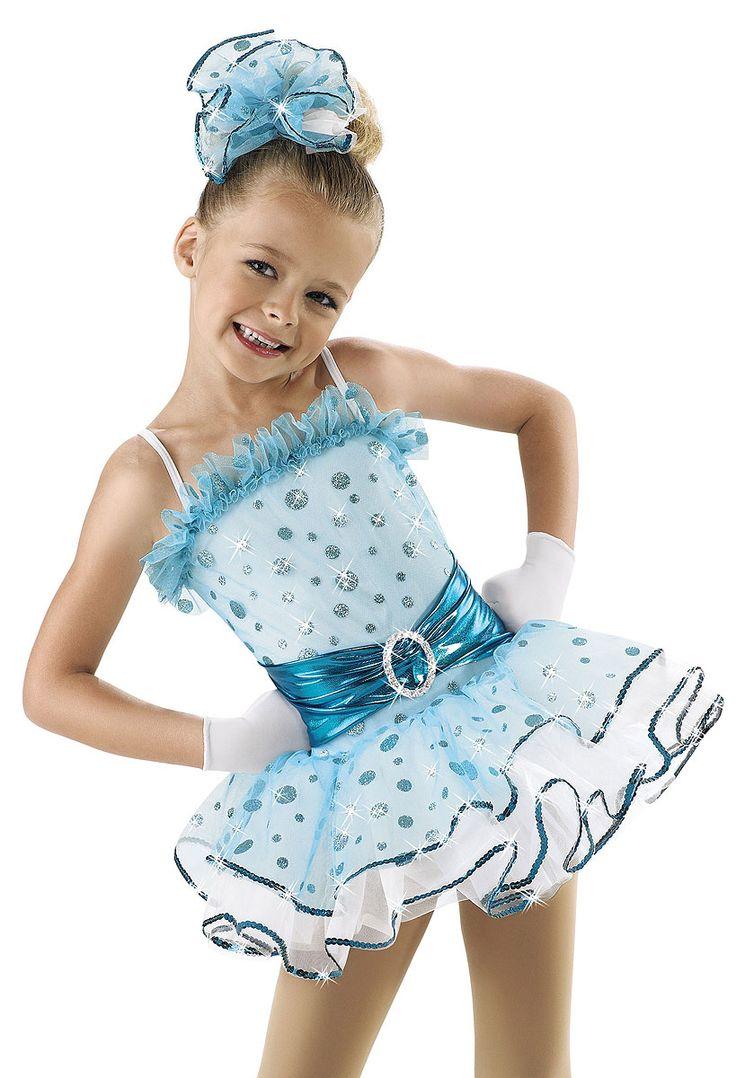 Girls' Glitter Dot Dance Dress; Weissman Costumes