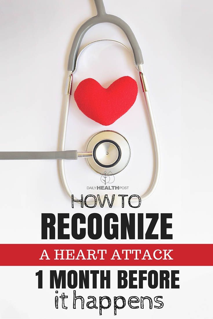 Stay Healthy By Knowing How to Recognize a Heart Attack One Month Before it Happens