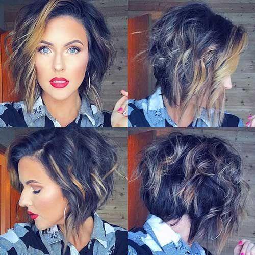 20 erstaunliche lockige kurze Frisuren für alle intelligenten Frauen