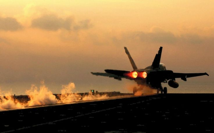 Take OFF in the Carrier