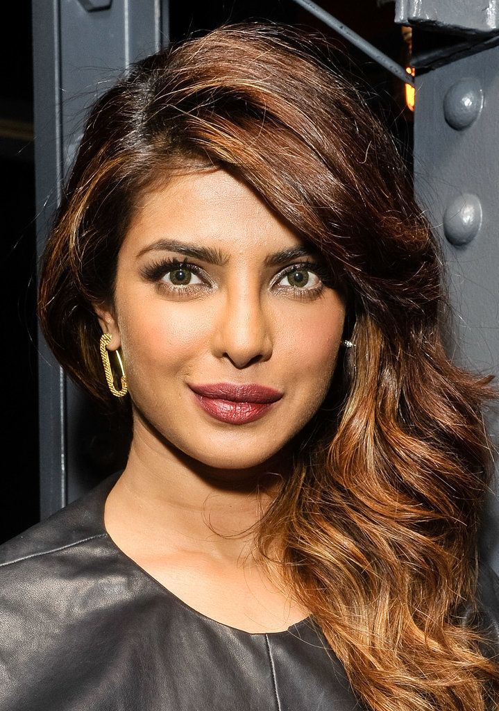 """""""Thank God for my genetic pink lips, because I don't wear lipstick. I don't like lipstick. I feel like my lips walk in three minutes before I do [when I have it on], so I like to just keep lip balm on them."""" - Priyanka Chopra // The Hottest Celebrity Lips in Hollywood"""