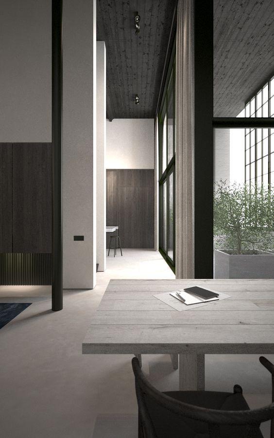 Loft in Avelgem Belgium by AD Office: