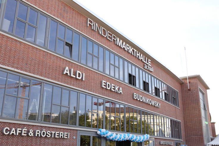 Rindermarkthalle St. Pauli, Edeka Eroeffnungsfeier