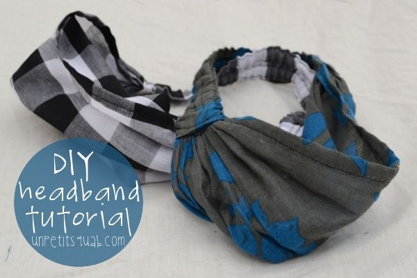 Sewing Tutorial: DIY Headband Tutorial WORKING AT A BAKERY!!! GET THE SCARF LOOK WITHOUT THE FUSS AND BULK! YAYY