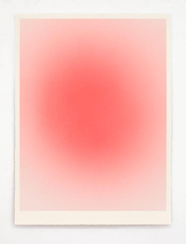 Macarena Ruiz-Tagle: Atmosphere Series, 2013 Acrilic and watercolor paper.