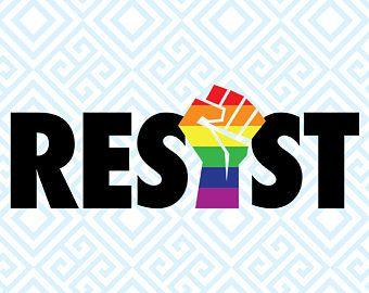 ccbf6d1551 LGBTIQ Resist SVG, Gay Pride File, Equality File, Rainbow Flag, Gay  Resistance clipart, Pride Flag, LGBT Resist file, Gay Fight, 66luna