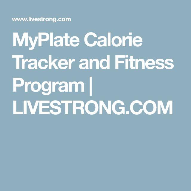 MyPlate Calorie Tracker and Fitness Program | LIVESTRONG.COM