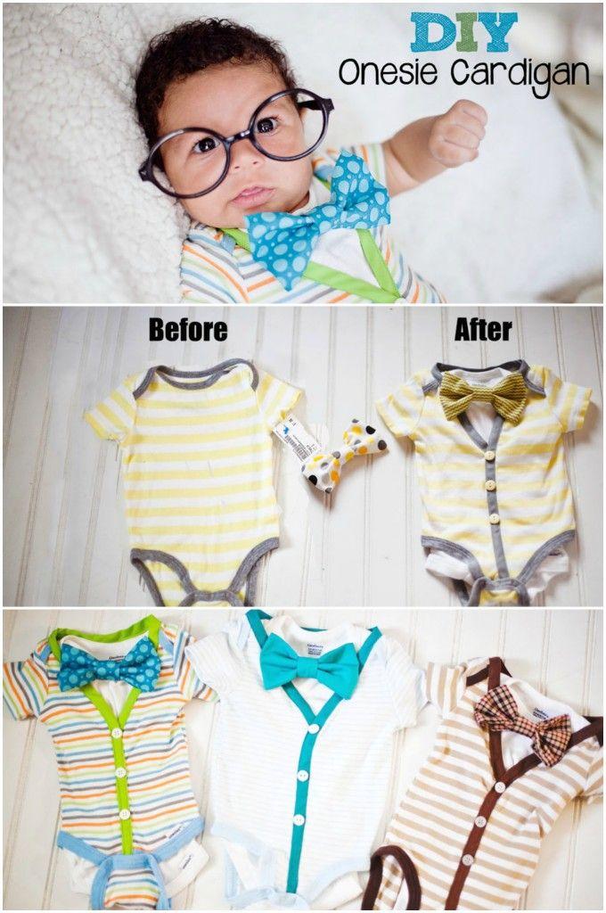 Cardigan onesie tutorial http://www.babymakingmachine.com/2013/05/cardigan-onesie-tutorial.html?utm_campaign=coschedule&utm_source=pinterest&utm_medium=Jennifer%20Borget%20%7C%20Baby%20Making%20Machine&utm_content=Cardigan%20onesie%20tutorial