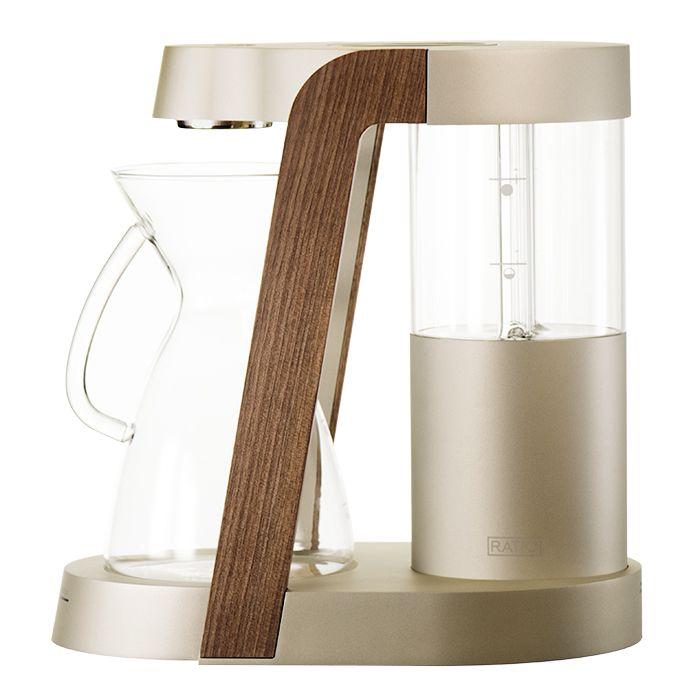 Clive Coffee: Ratio Eight Coffee Machine :: Champagne Nickel
