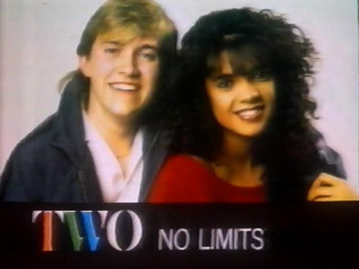 No Limits 1987 - youth music programme from BBC Manchester presented by Jenny Powell and Tony Baker.