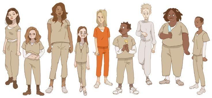 """Orange is the New Black"" by Gobeur - Blog/Website | (http://gobeur.tumblr.com/)"