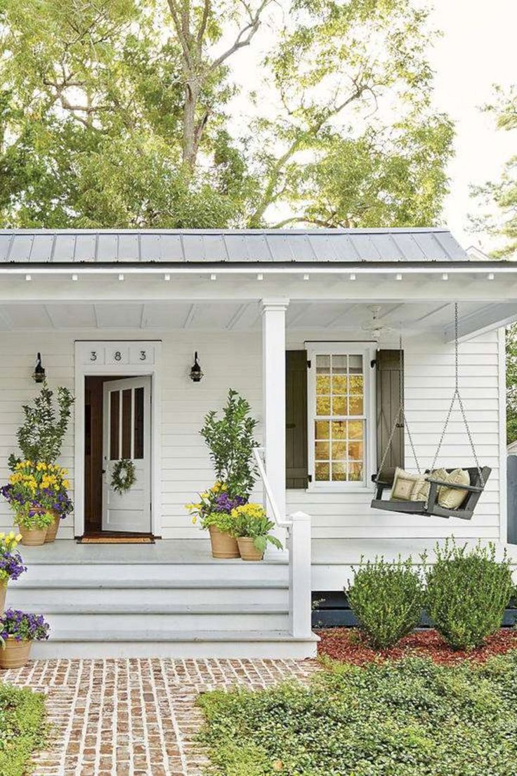 75+ Most Antique And Beautiful Farmhouse Front Porch